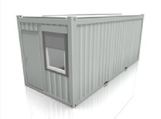 Bürocontainer - Mobile Raumlösung für den Soforteinsatz