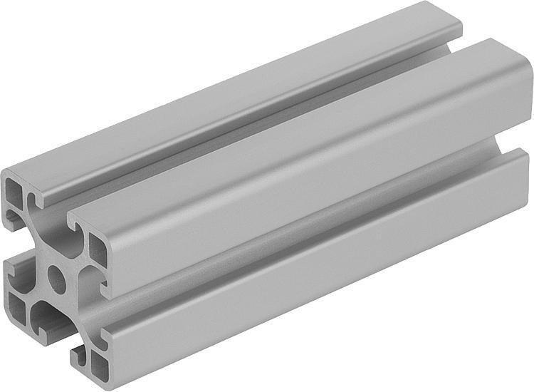 Profilés aluminium 40x40 légers Type I - Profilés aluminium