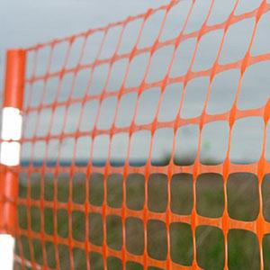 emergency orange safety fence -