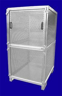 Lochblechbox - Hurtz Aluminium Sonderkonstruktionen