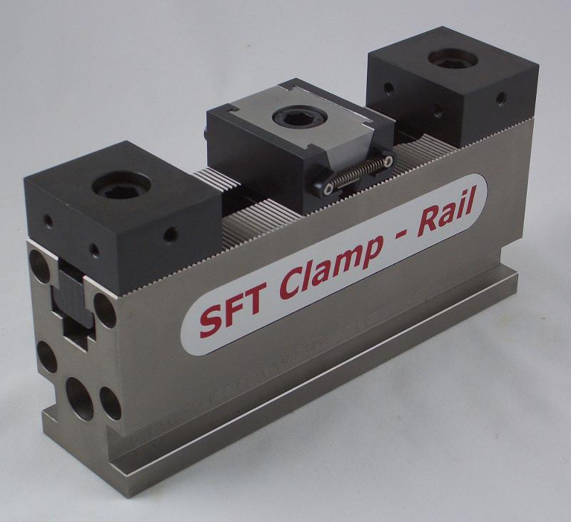 SFT Clamp-Rail Spannschienenset, Länge 200 mm / Breite 50 mm - null