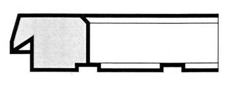 R7 A smusso gradino e tacche - Produzione di fasce elastiche raschiaolio a Milano