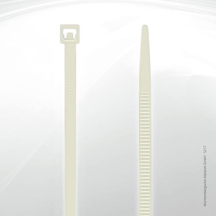Allplastik-Kabelbinder® cable ties, standard - 5217 (natural)