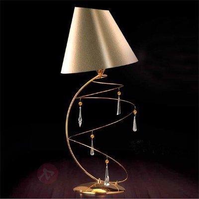 Lampe à poser VERTIGO avec pampilles en cristal - Lampes à poser designs