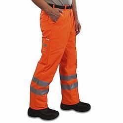 Warnschutz-Bundhose mit Schnittschutz - Bundhose Schnitt Ref