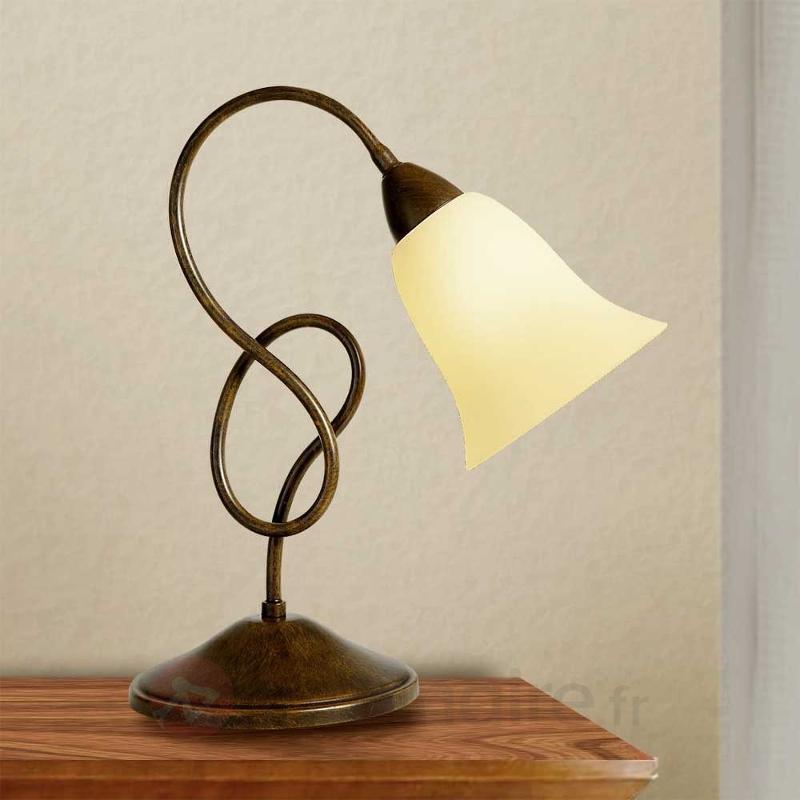 Lampe à poser rustique Michele - Lampes à poser rustiques