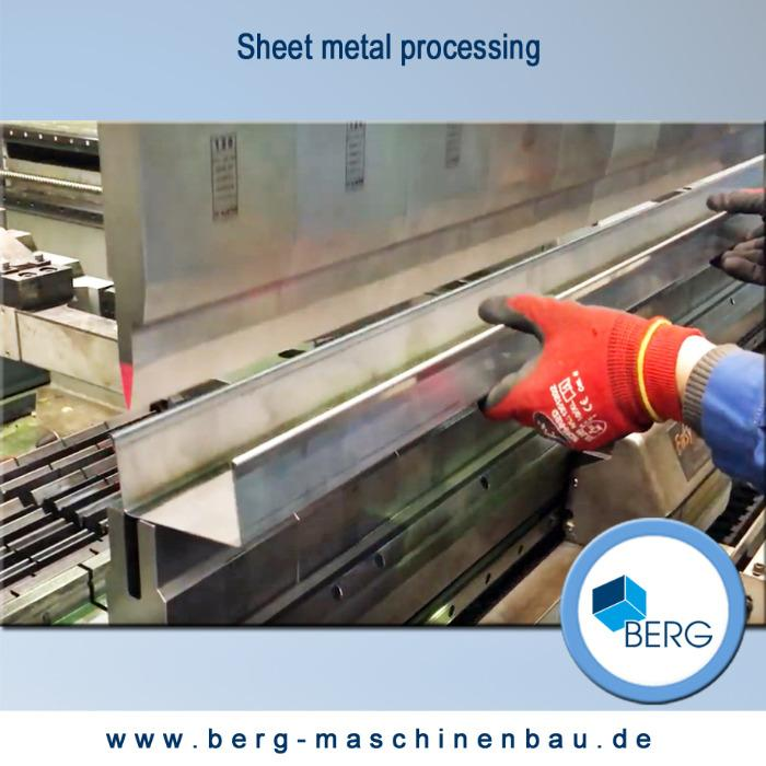 Sheet metal processing - serial parts, individual parts, complete manufacturing with surface refinement