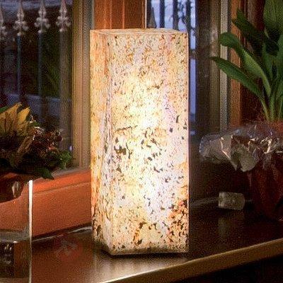 Colonne lumineuse de qualité en ardoise - Lampes décoratives d'intérieur
