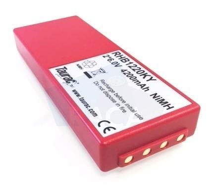 RHB1220KY remote control battery - for ABB/HBC FuB10A / FuB10AA / FuB10XL / FuB78AA / BA214060 / BA214061