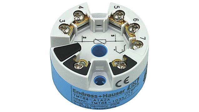 iTEMP TMT84 Transmisor de temperatura para cabezal -