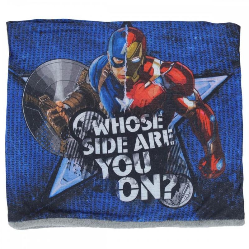 6x Cache-cou Captain America 24x22 - Bonnet Gant Echarpe