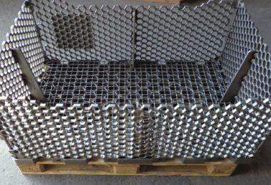 Annealing racks for steel grafting - Automotive and oven construction