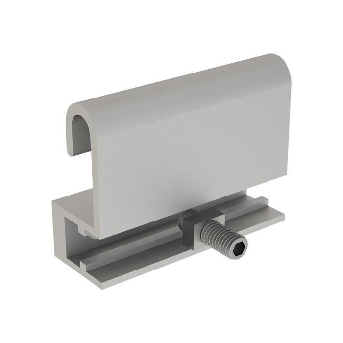 Soporte de panel superior -  Soporte de panel superior de aluminio con tornillo ajustable