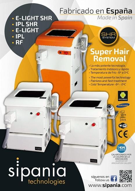 smart Cube E-LIGHT/IPL/RF SHR - La más potente tecnología. Tratamiento Indoloro y rápido. Temperatura de frio -6