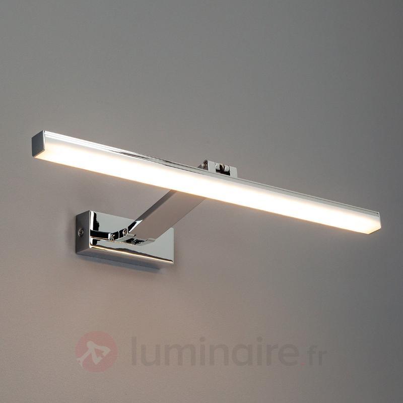 Applique à tableaux LED Leonid chromée