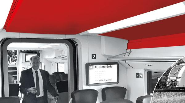 Interior Deck System For Train - Interior Deck system for the RRX