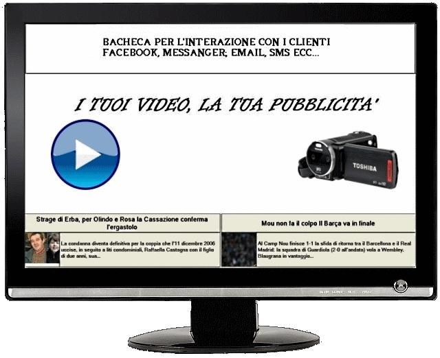 ZADV - Monitor pubblicitari - Digital Signage
