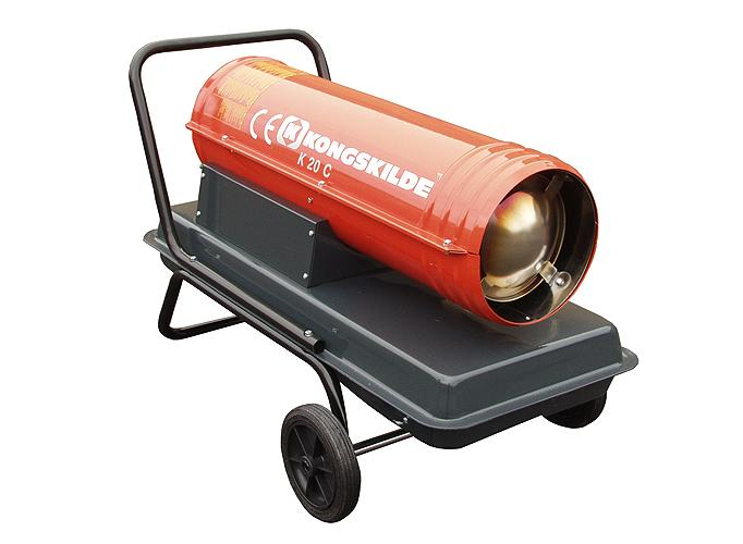 Appareils de chauffage fioul combustion directe - KC - Chauffage - Génerateurs à air chaud
