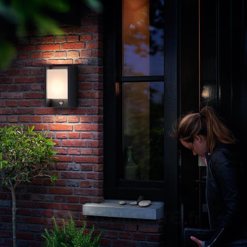 Applique d'extérieur LED Arbour avec détecteur - Appliques d'extérieur avec détecteur
