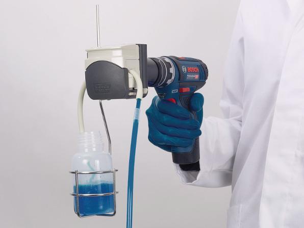 Vampire Sampler - Sampling device, for water and effluents, transportable