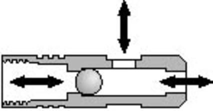 187 Selective Shuttle Valve - null