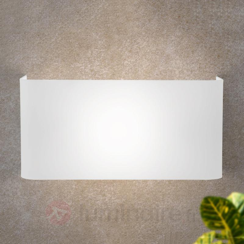 Applique rectangulaire JOULIN, blanc - Toutes les appliques