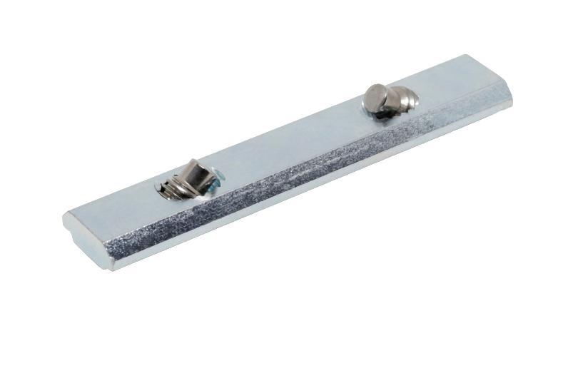 Stoßverbinder - STV - 10 - M8x14 verzinkt -