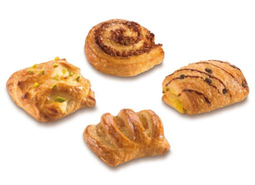 Mini Butter Pastry Mix - Mini pastries