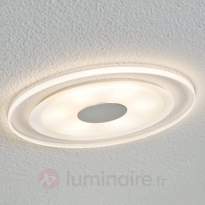 Luminaire LED à encastrer Whirl IP 23 - Spots encastrés LED