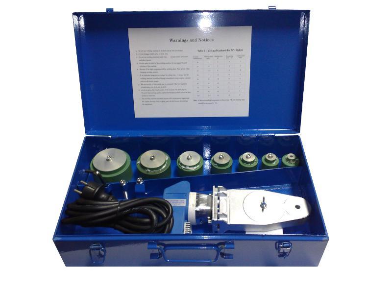 Komplettes Kofferset HHSW-63-W - Muffenschweißgeräte
