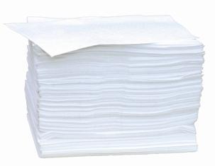 Feuilles absorbantes hydrocarbures, buvards simple épaisseur - FH 200 - Absorbants fibres et granulés