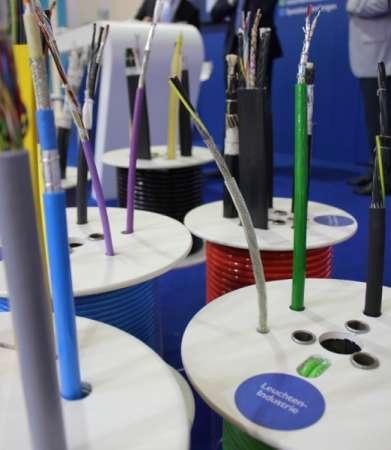 Textilkabel für die Leuchtenindustrie