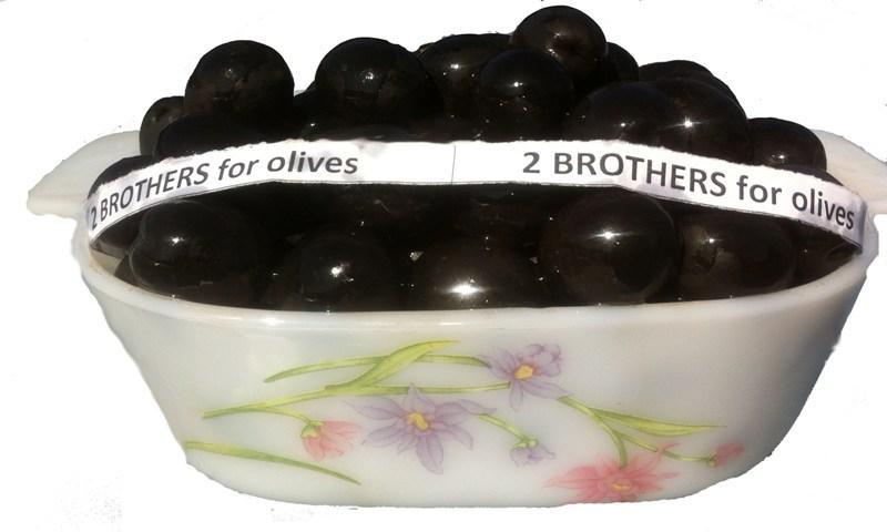 Ripe Oxidized Black Olives - Ripe Oxidized Black Olives