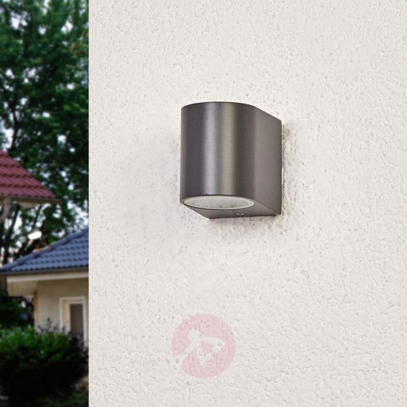 Graphite grey outdoor wall light Palina - Outdoor Wall Lights