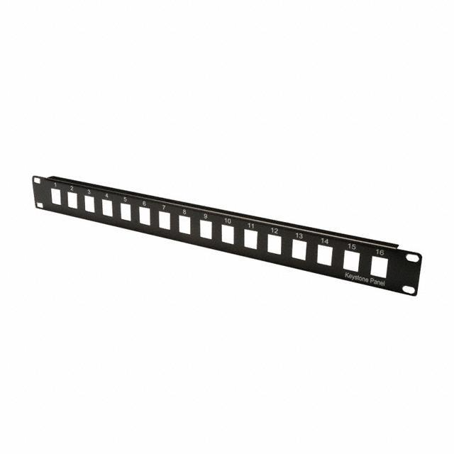 "PATCH PANEL 19"" 16PORT BLANK - Assmann WSW Components A-PAN-16-MOD"