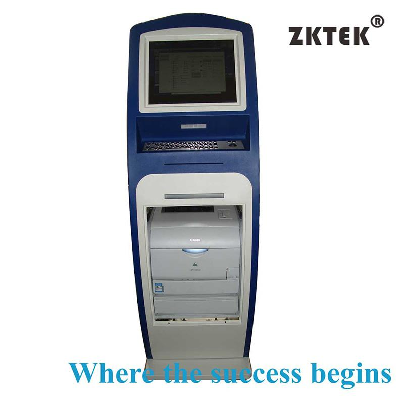 H3 payment and printing touchscreen kiosk - health care printing kiosk
