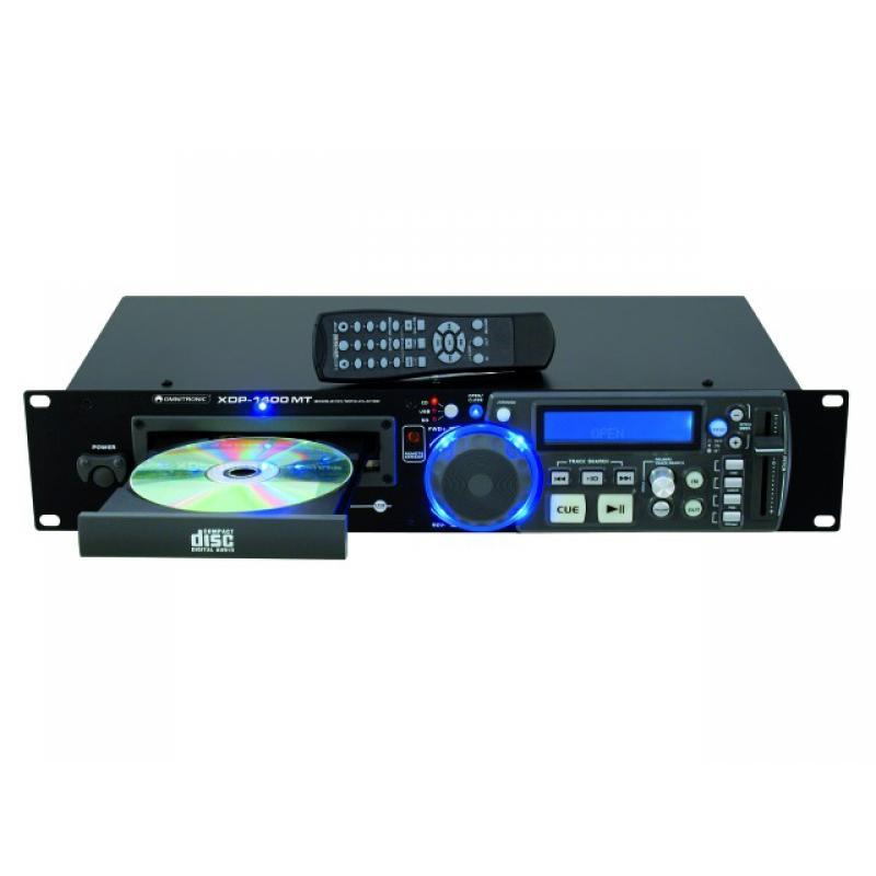 CD-Player mit MP3 Funktion - Omnitronic XDP-1400MT CD-/MP3-Player