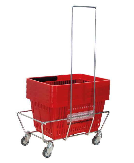 promoflex Verkaufsförderung - Mehr Umsatz für Sie – mit den promoflex Einkaufskörben