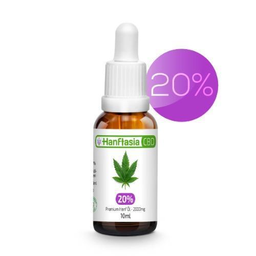 Aceite de CBD 20% - ACEITE DE CBD 20% - MCT - cáñamo de espectro completo - mascotas