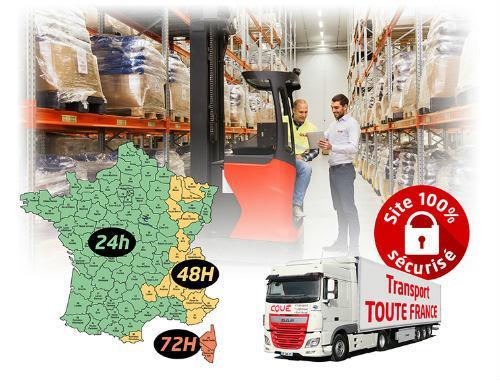 Transport-Logistique - Messagerie palette, groupage, international, logistique