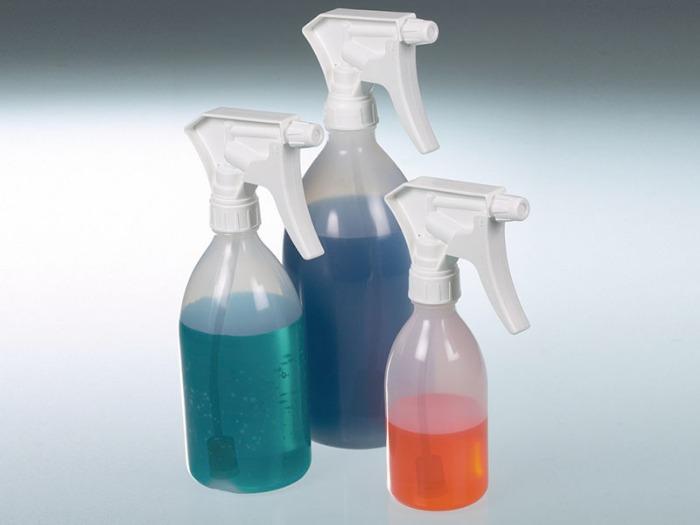 Botella pulverizadora Turn'n'Spray - Pulverizador de plástico, pulverización aérea, equipo de laboratorio