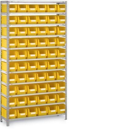 Kästenregale Steck- oder Schraubsystem - null