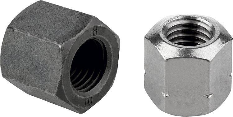 Ecrou à portée sphérique DIN 6330 extension de gamme - Éléments de liaison