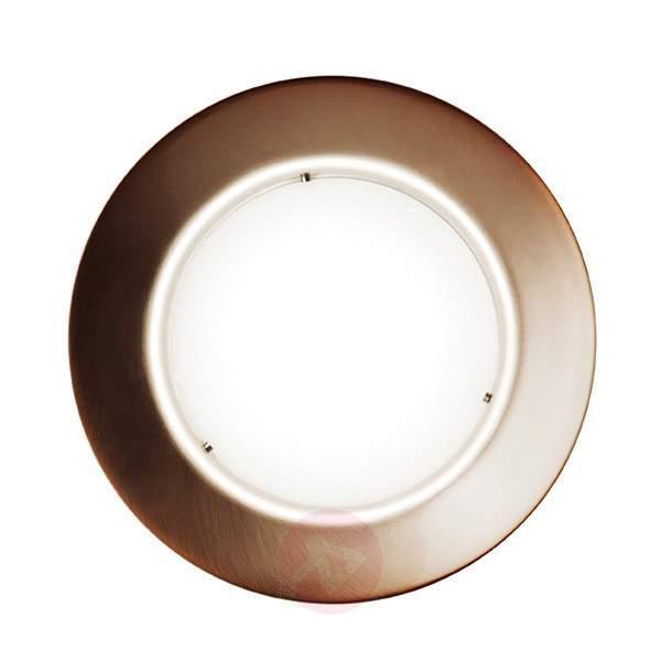 Copper-coloured LED ceiling light Maine - Ceiling Lights
