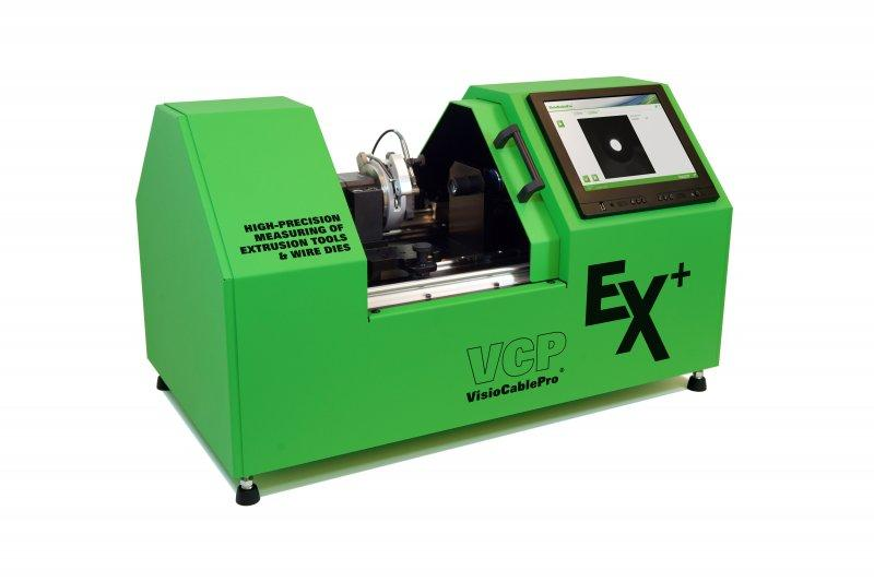 Measuring device for extrusion dies and drawing dies VCPEx+ - Stand-alone system for measurement of wire guides, mouthpieces and drawing dies