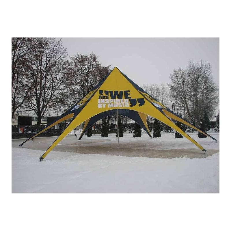 Tente étoile - Tente publicitaire