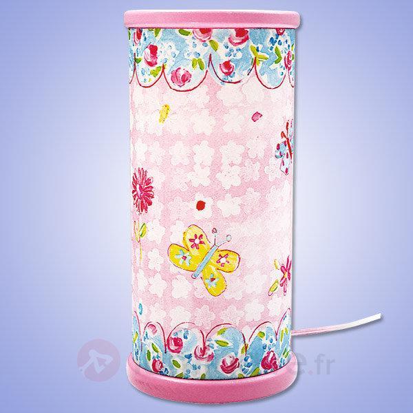 Lampe à poser LED Candy à l'aspect joyeux - Chambre d'enfant