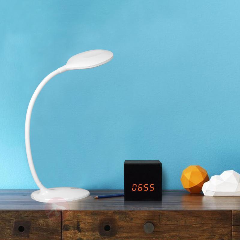 Lampe de bureau LED Aijana, à intensité variable - Lampes de bureau LED