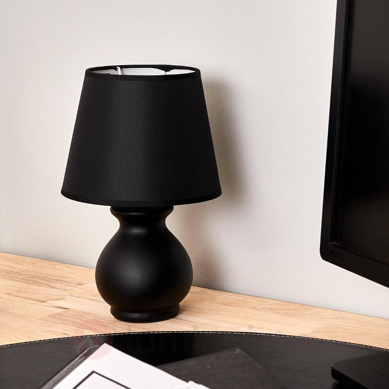 Petite lampe à poser céramique MIA - Lampes de chevet
