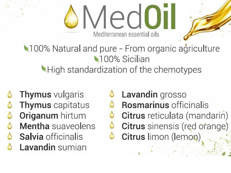 Mediterranean essential oils  - MedOil